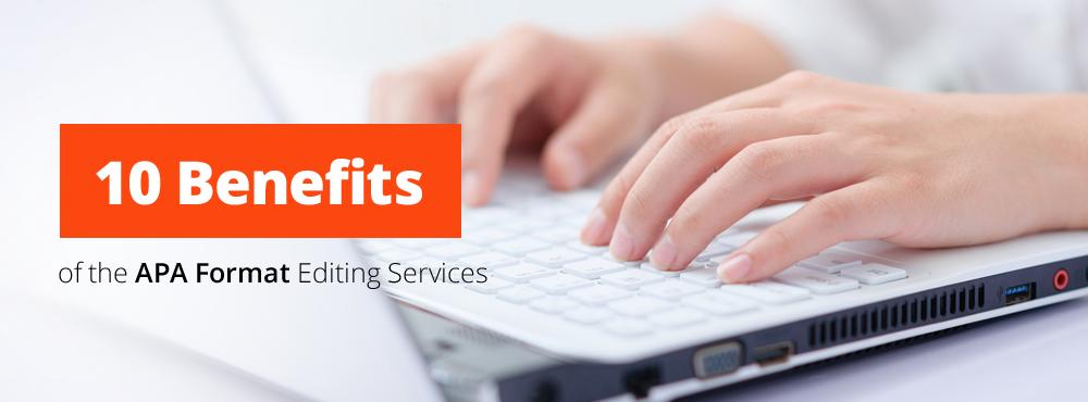 apa format editing services