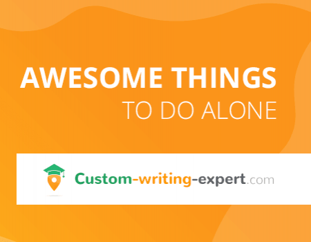 Awesome Things to do Alone