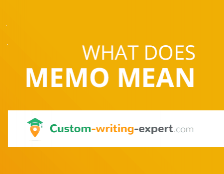 What does Memo Mean