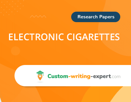 Electronic Cigarettes Free Essay