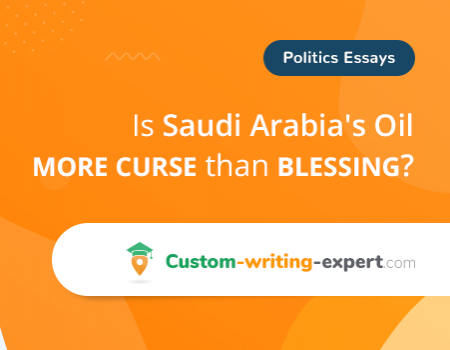 Is Saudi Arabia's Oil More Curse than Blessing Free Essay