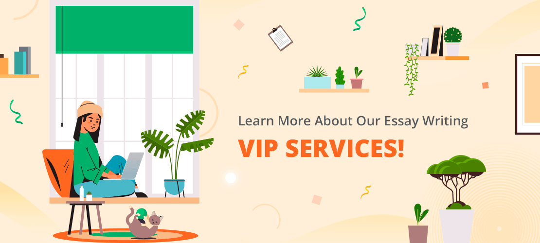 Learn more about Our Essay Writing VIP Services!