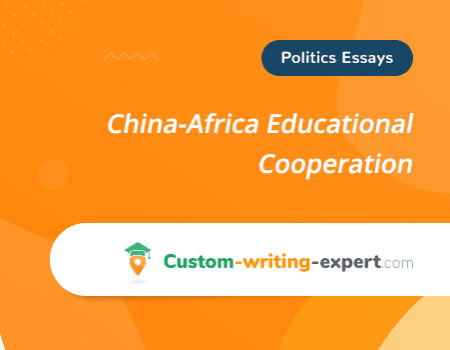 China-Africa Educational Cooperation Free Essay