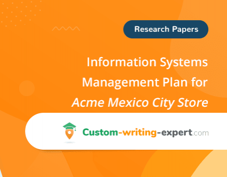 Information System Management Plan for Acme Mexico City Store