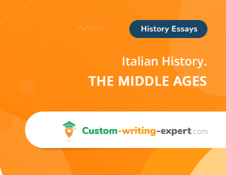 Italian History the Middle Ages