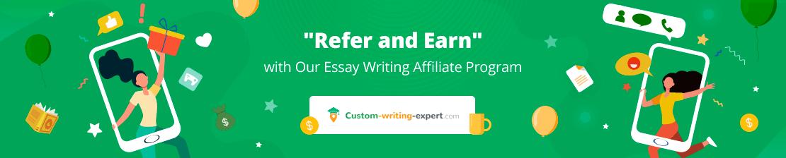 Refer n Earn: Essay Writing Affiliate Program