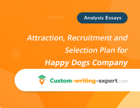 Attraction, Recruitment and Selection Plan for Happy Dogs Company Free Essay