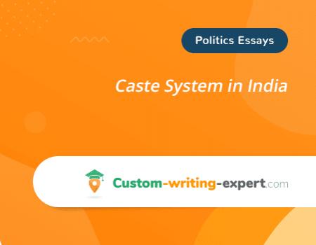 Caste System in India Free Essay