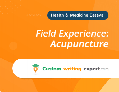 Field Experience: Acupuncture
