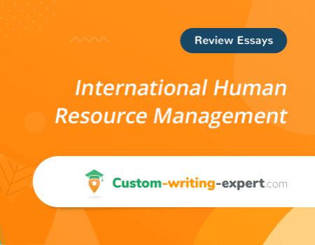 International Human Resource Management Free Essay